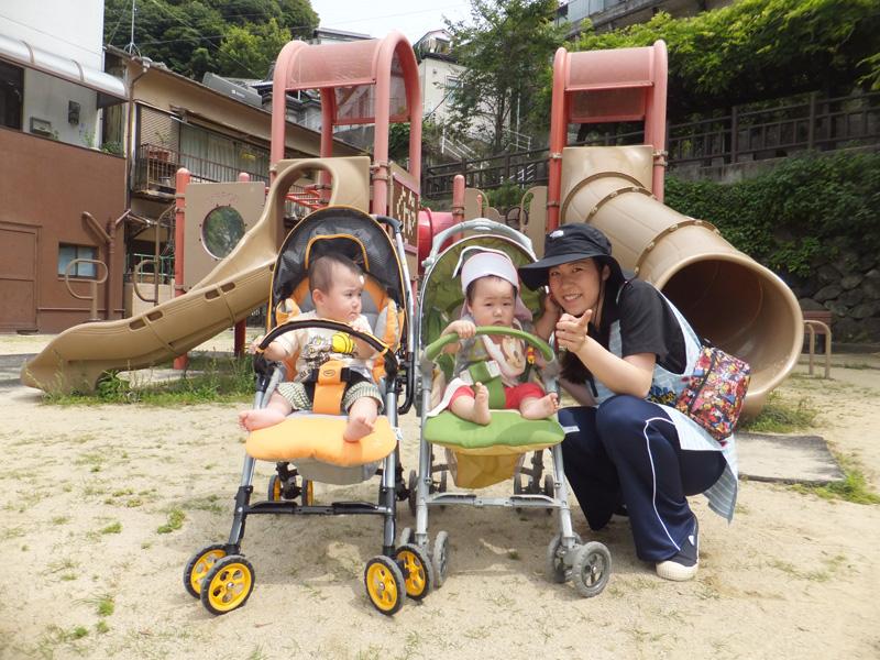 ◎園外保育◎  もも組0歳児